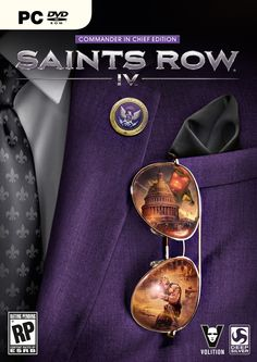 Saints Row 4 Box Art Revealed, Hail to the Chief video series launches
