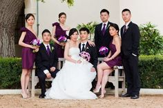 Formal Portrait of the wedding party