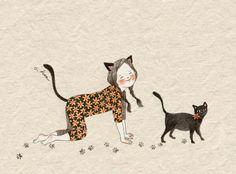 Jouer à chat // créatrice S. Hee (Corée)