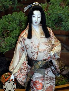 Japanese Doll with Hand Drum