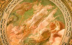 D'Orsay Ceiling Fresco, via Flickr.