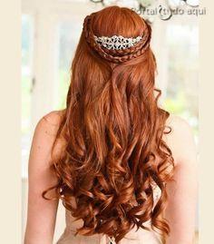 Top 5 penteados para noivas, madrinhas, formatura, debutante ou festa