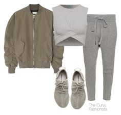 """Untitled #839"" by thecurvyfashionista ❤ liked on Polyvore featuring Haider Ackermann, Fear of God, adidas Originals, women's clothing, women, female, woman, misses and juniors"