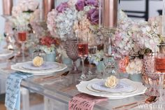 WedLuxe– Mulberry Blooms | Photography by: 5ive15ifteen Photo Company Follow @WedLuxe for more wedding inspiration!