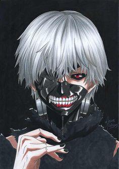 Tokyo Ghoul: Kaneki Ken's 5 character changes, the weak can't be king, he has to change Dark Anime, Tokyo Ghoul, Anime, Anime Naruto, Anime Characters, Anime Drawings, Anime Shows, Manga