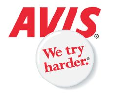 ''We Try Harder'' - Avis Rent-A-Car launched a new advertising campaign in 1963 that featured this tagline written by Bill Bernbach of DDB. Avis Car Rental, Best Car Rental, Company Taglines, Company Slogans, Advertising Slogans, Ads, Advertising Campaign, Weekly Rentals, E-mail Marketing
