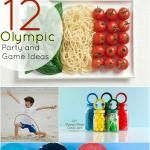 Throw an Olympic Party -- 12 party, games and food ideas!!