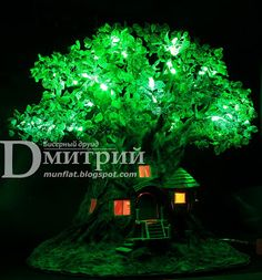 Beadwork Druid Dmitry: luz de noche