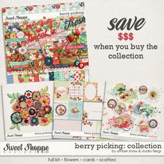 Berry Picking: COLLECTION by Studio Flergs & Amber Shaw