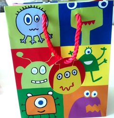 Monster Party Bags