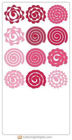 Image result for rolled flower svg