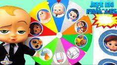 Juego de Ruleta Sorpesa de Un Bebé en Pañales  Bebé Jefazo Juega con Rul...