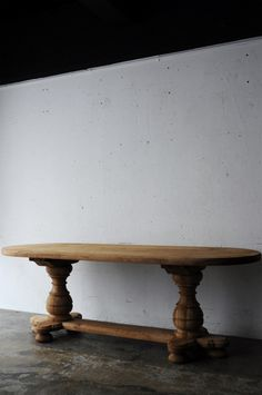 150 Oak table oval