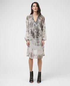 HEROIC DRESS - RAW GREY & MOONSTRUCK - New In - Womens -  £75