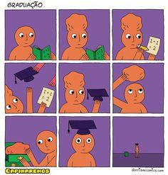 Como funciona a graduação.