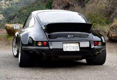 Black Beauty II is a 1972 Porsche 911 modified to resemble one of the race-purpose 911 RSR's that Porsche made in As the Roman Porsche 911 Rsr, Porsche 911 Singer, 2012 Porsche 911, Porsche Carrera, Ferdinand Porsche, Porsche Classic, Classic Cars, My Dream Car, Dream Cars