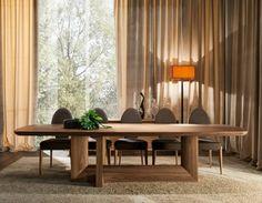 Mesa de comedor INDIGO 300: Comedor de estilo Moderno de INTERIORS TON SARRÀ