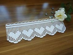 Find great deals for 3 Meters Vintage Embroidered Lace Edge Trim Ribbon Wedding Applique Sewing Craf Filet Crochet, Débardeurs Au Crochet, Crochet Blanket Edging, Granny Square Crochet Pattern, Crochet Stitches, Crochet Boarders, Granny Square Häkelanleitung, Lace Knitting Patterns, Crochet Curtains