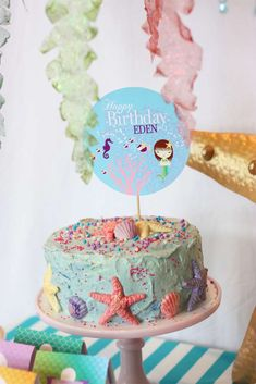 Mermaid Birthday Party Ideas | Photo 1 of 41 | Catch My Party