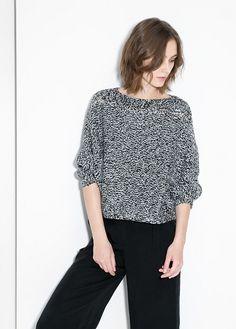 Alpaca wool-blend sweater