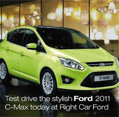 stylish Ford 2013 C-Max today at Right Car Ford