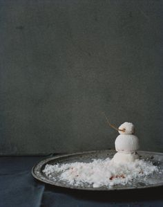 Noma, snowman dessert http://www.noma.dk
