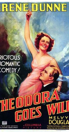 Directed by Richard Boleslawski.  With Irene Dunne, Melvyn Douglas, Thomas Mitchell, Thurston Hall. The author of a controversially racy best-selling book tries to hide her celebrity status from her provincial small-town neighbors, who'd be scandalized if they knew.