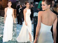 """Emma Watson in Ralph Lauren at the """"Noah"""" London Premiere"""