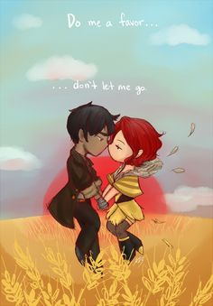 Transistor: Red and the man w/ no name *spoiler* by gohe1090.deviantart.com on @deviantART