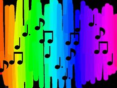colour and music mix.