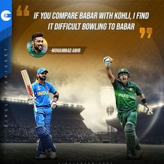 Pakistan seamer Mohammad Amir says he finds Babar Azam tougher to bowl to than Virat Kohli.