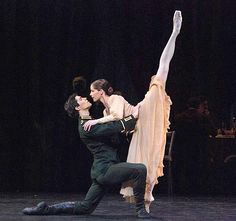 Roberto Bolle and Darcy Bussell