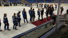 Women's Hockey Team receiving their bronze medals at World Championship Ice Hockey Tournament 2017 Hockey Tournaments, Women's Hockey, World Championship, Finland, Bronze, Sports, Hs Sports, World Cup, Sport