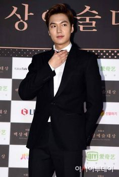 Lee Min Ho at the 51st Baeksang Arts Awards. See all of the red carpet looks now!