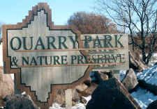 Quarry Park is the most unique county park in the United States. It features:        Granite reflecting pools      A swimming hole 112 feet deep      Scientific and Natural Areas      Mountain bike paths over billion-year-old bedrock      Trout fishing    Quarry park currently contains 684 acres, it has much to offer for those who love the outdoors.