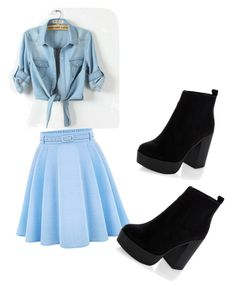 """Untitled #24"" by saniyachambers82 on Polyvore featuring WithChic"