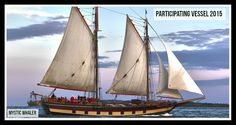 For 40 years the Schooner Mystic Whaler has guided thousands of travelers through the unspoiled waters and ports of Southern New England and Chesapeake Bay.