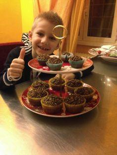 La cucina di Cate: Muffin di Nutella, ultra veloci !