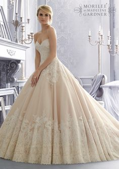 Mori Lee - 2674 - All Dressed Up, Bridal Gown