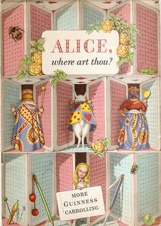 'Alice, where art thou?' (1952) - outside front cover | by petkenro
