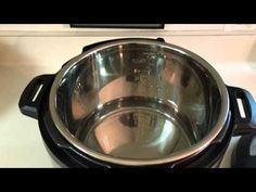 INSTANT POT:  Water Test / Initial Test Run IP-DUO60 - YouTube