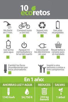 10 eco retos #ecology