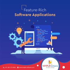 Maple Software offers comprehensive services in software development. We also provide customized IT solutions, innovative advancements, and app developments for accelerated business. Application Development, Software Development, Mobile News, News Apps, Latest Mobile, Colorful Backgrounds, Innovation, Challenges, Models