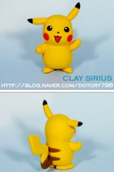 Tutoriel : Réaliser Pikachu (Pokemon) en Fimo