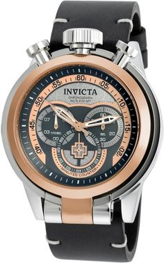INVICTA I-Force Men 52mm Stainless Steel Rose Gold + Stainless Steel Rose Gold+Titanium+Gunmetal dial VD55 Quartz