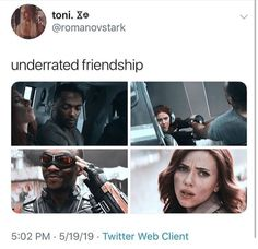 I want to see more of them but will it happen again? The Avengers, Avengers Memes, Marvel Jokes, Marvel Funny, Marvel Dc Comics, Marvel Heroes, Marvel Characters, Marvel Avengers, Avengers Headcanon