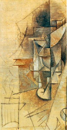 """A Glass"" by Pablo Picasso"