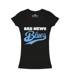Bad News Blues - Black  (Women)