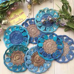 Crochet coasters set