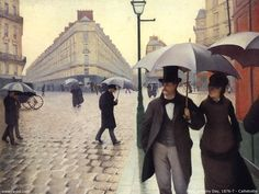 Paris rainy day